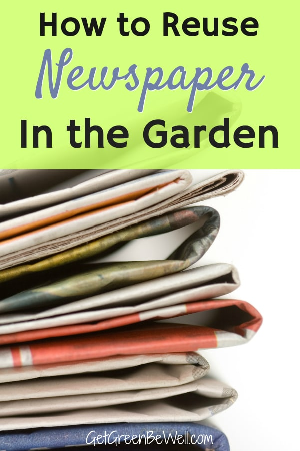 Stack of newspapers on white isolated background