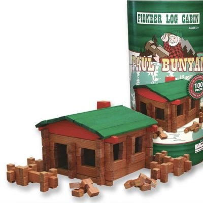 Roy Toy Wooden Log Sets: Like Lincoln Logs But Made in the USA