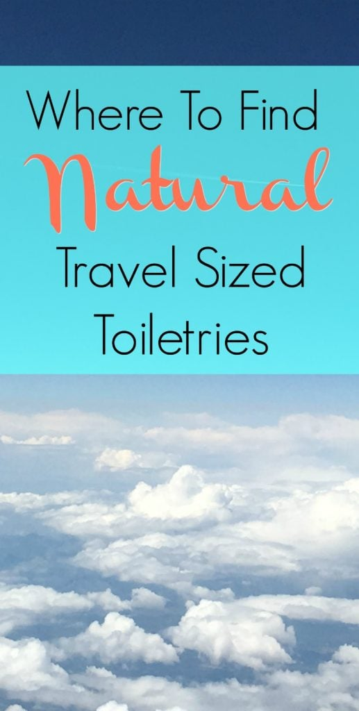 Travel size toiletries save space when traveling. But where can you find non-toxic beauty items from organic and natural ingredients to take on the plane for your trip? Here are the best stores and websites to buy travel sized toiletries. #nontoxicbeauty #naturalbeauty #travel