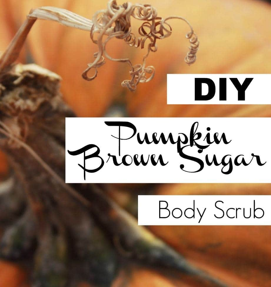 DIY Pumpkin Brown Sugar Body Scrub