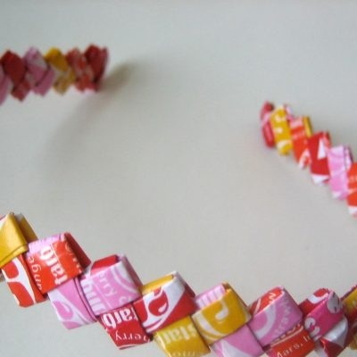 Candy Wrapper Crafts