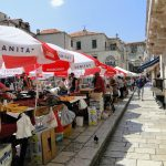 Dubrovnik Farmers Market in Croatia