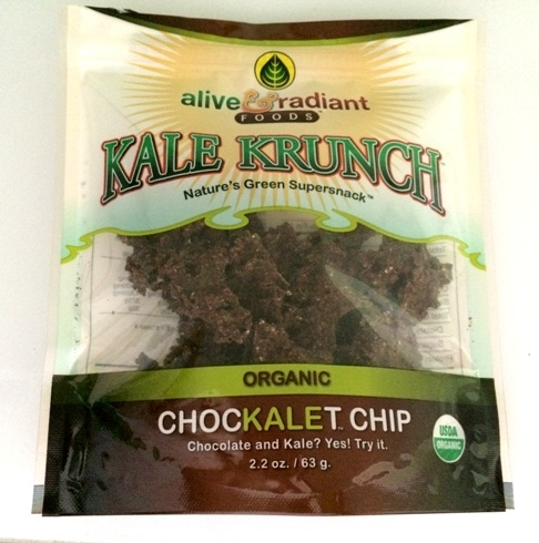 chocolate and kale