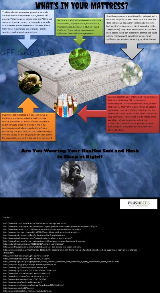 Plush Beds Whats-In-Your-Mattress-Infographic