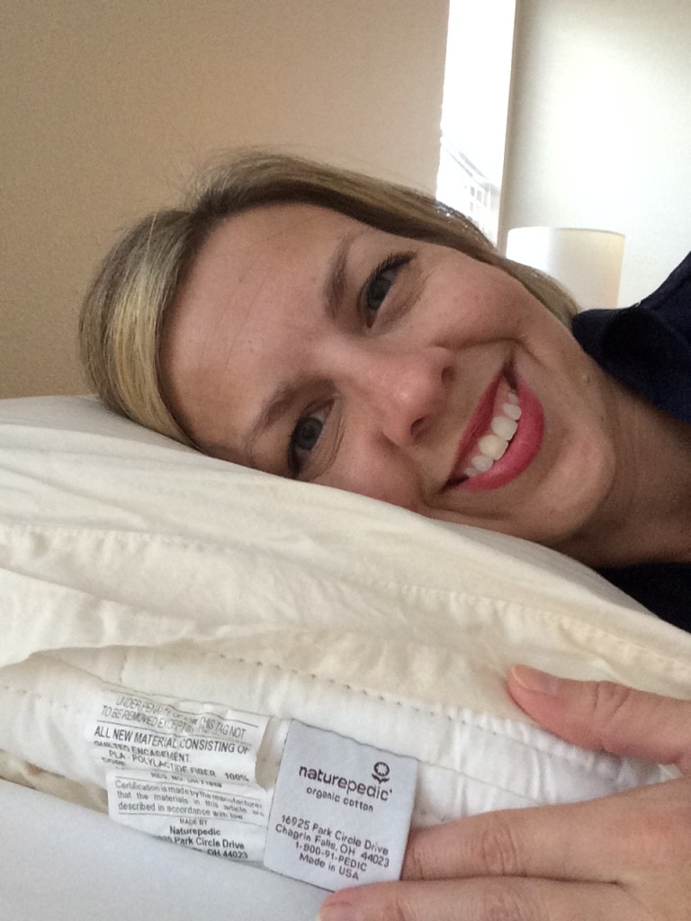 Sleeping Comfortably with Naturepedic Pillow