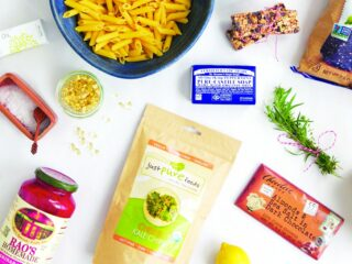 collection of healthy food ingredients