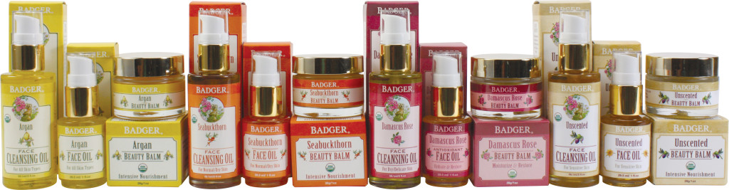 Badger Facial Oil Skincare Products