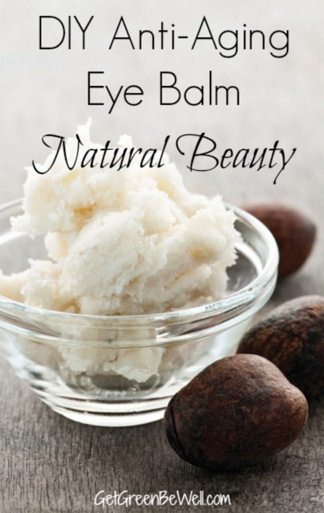 DIY Natural Beauty using simple ingredients. This anti-aging eye cream is an easy recipe to try for non-toxic beauty products that you can make at home. Ditch wrinkles naturally. #DIY #naturalbeauty #nontoxicbeauty