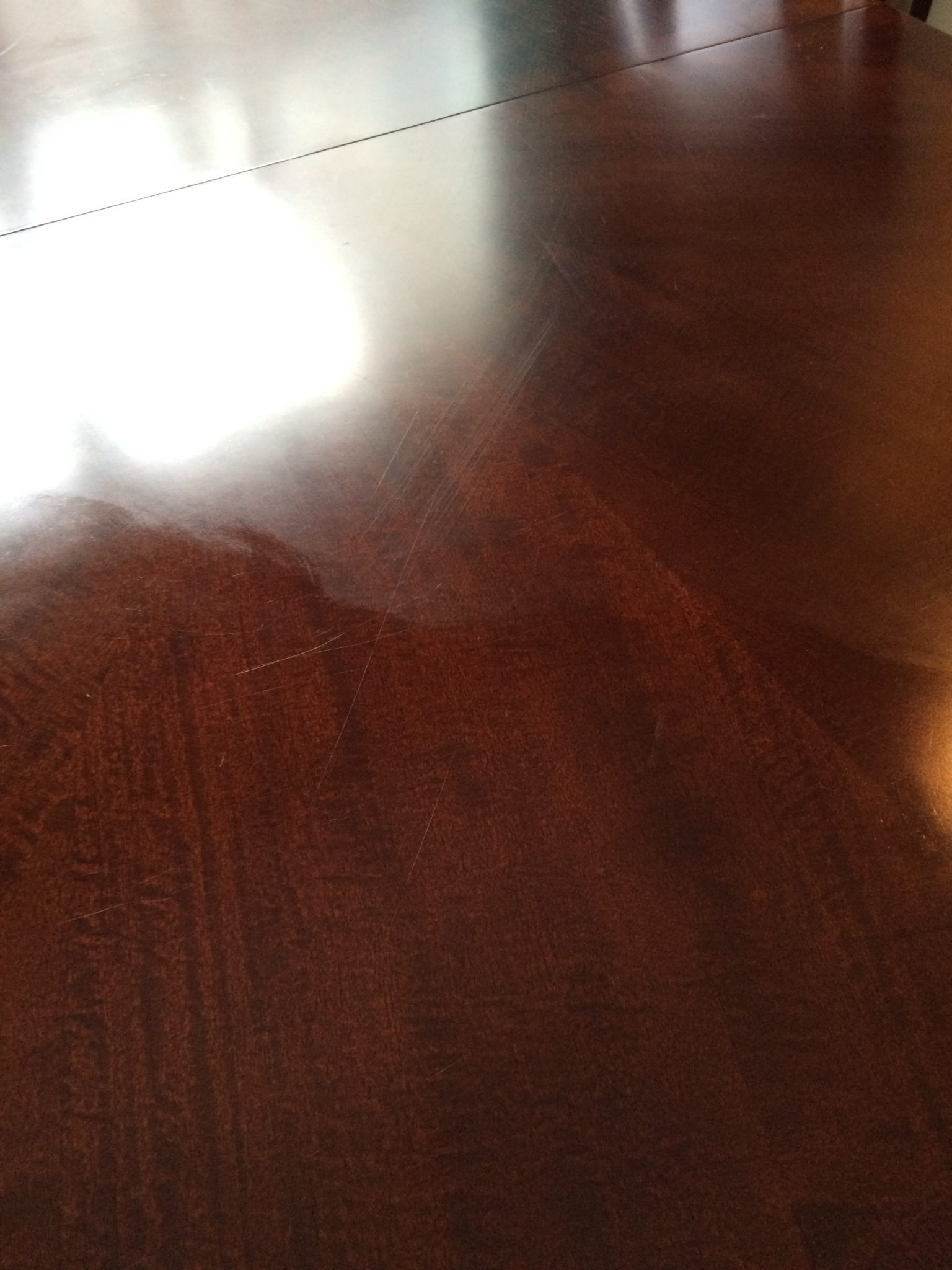 Remove White Residue From Wood Table Brokeasshome Com