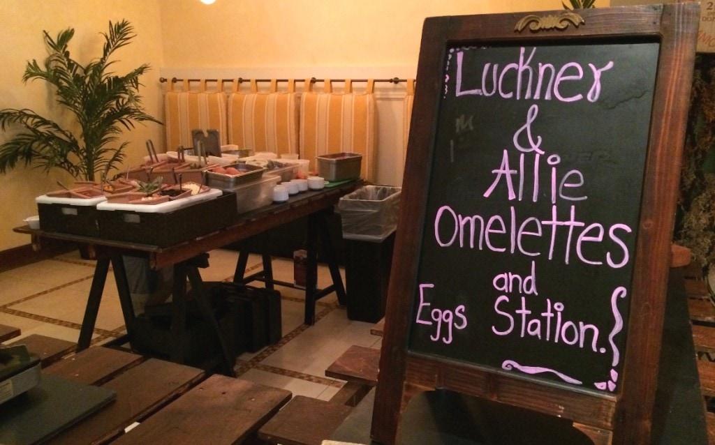 omellete and egg station trev's restaurant orlando