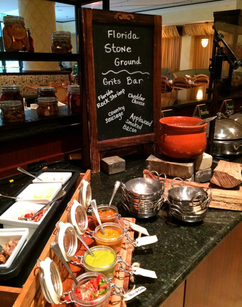 Trevi S Breakfast Buffet At The Omni Orlando Resort At