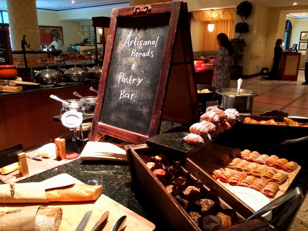 pastries buffet