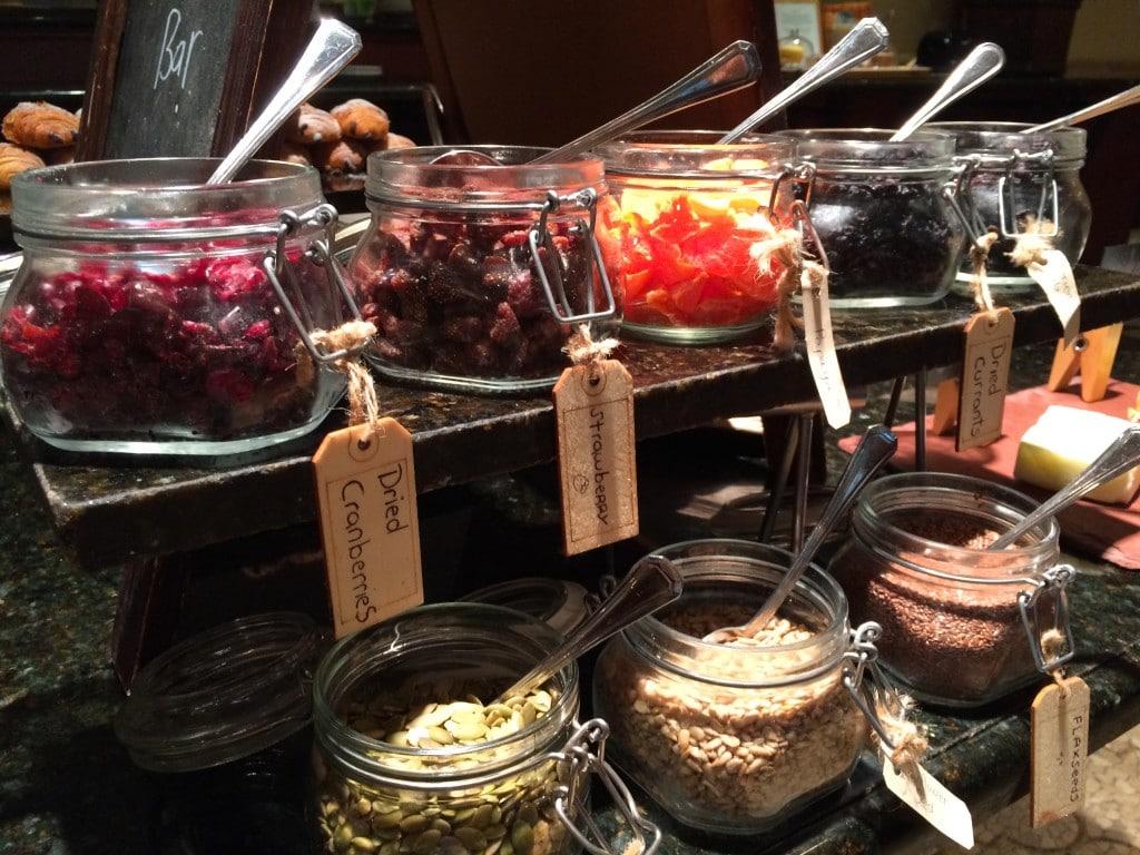 granola toppings breakfast trevis
