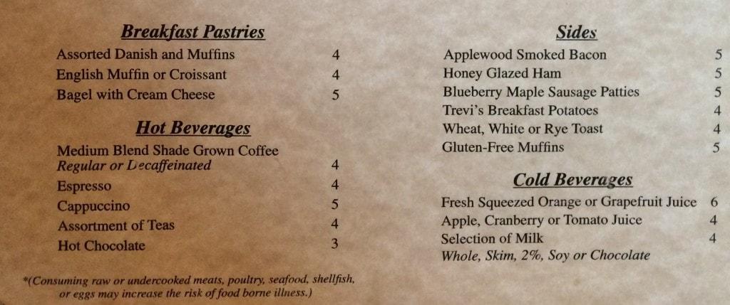 trevi orlando restaurant breakfast menu 2