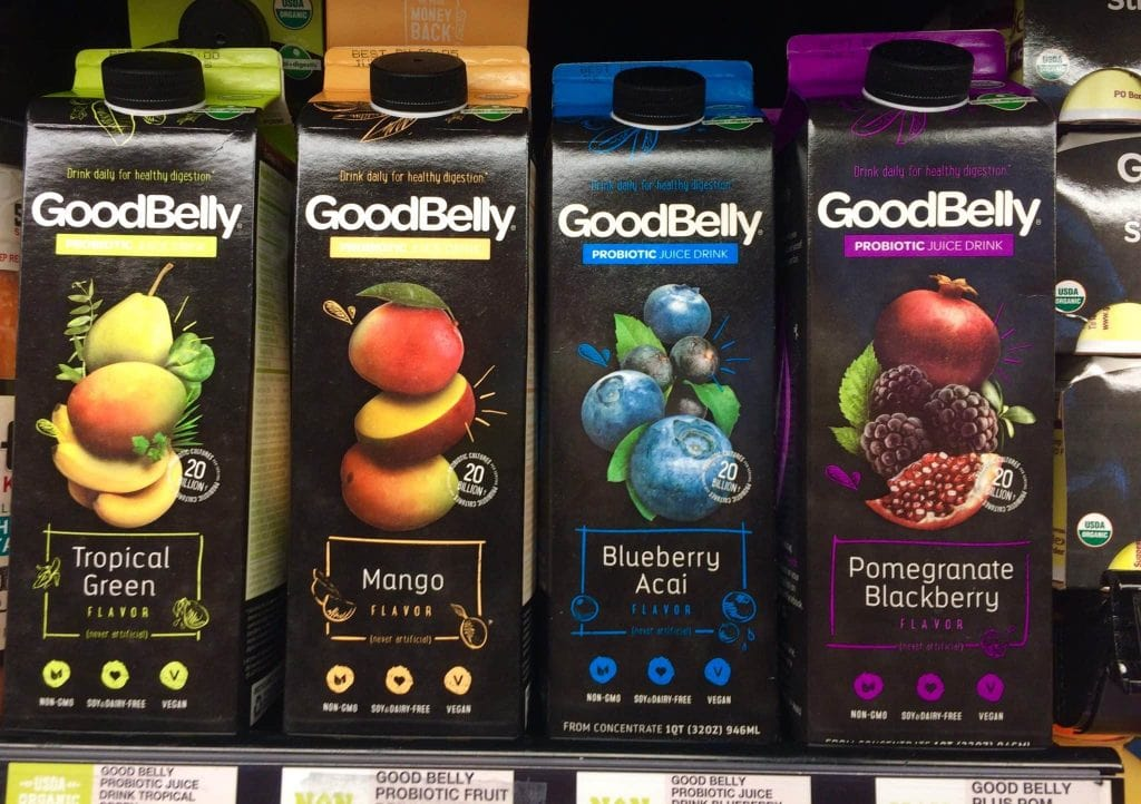 GoodBelly Juice Drinks