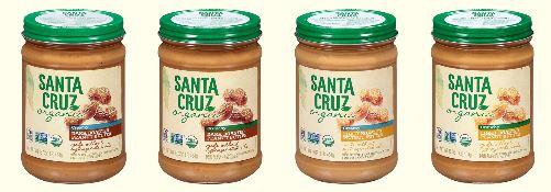 santa cruz peanut butters