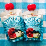 Taste Test Review: Happy Family Organic Fruit Squeeze Pouches