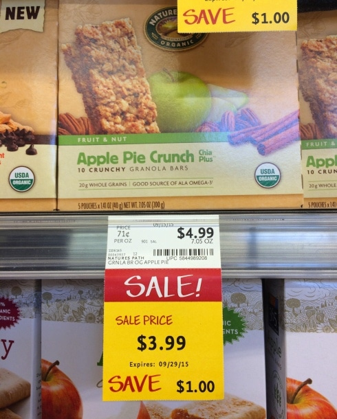 Whole Foods Natures Path Granola