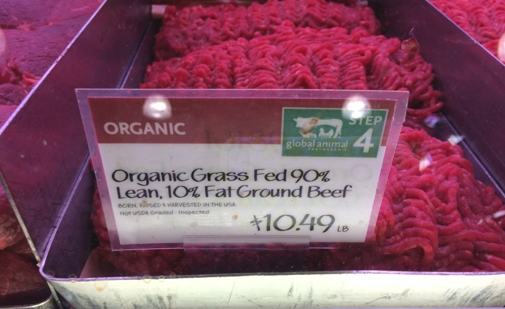 Whole Foods Organic Ground Beef