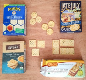 The Best Organic Saltine Crackers – A Taste Test