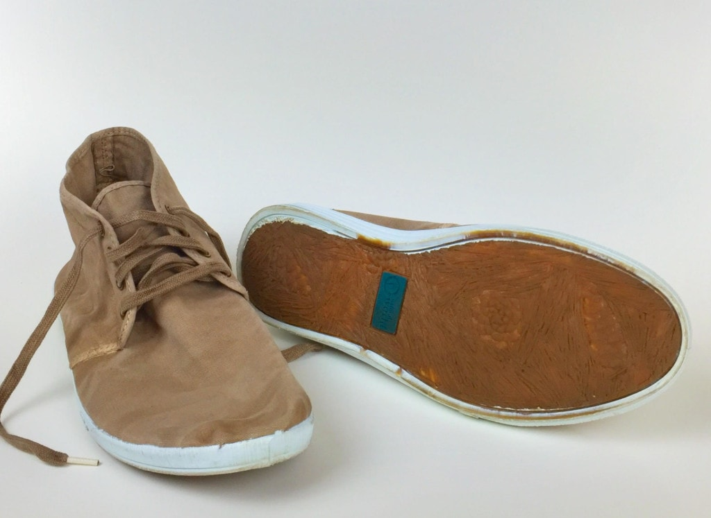 Natural World Mens Suede Brown Shoes