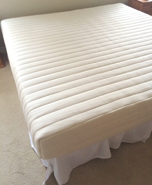 Sleep on Latex Mattress Bed