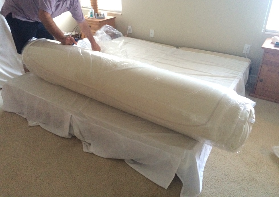 Unrolling Bed