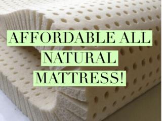 sleep on latex mattress