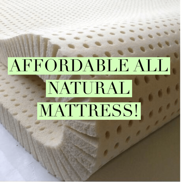 Affordable All Natural Mattresses from Sleep On Latex - Get Green Be Well