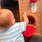 Our Little Tikes Go Green! Playhouse: Construction Phase!!