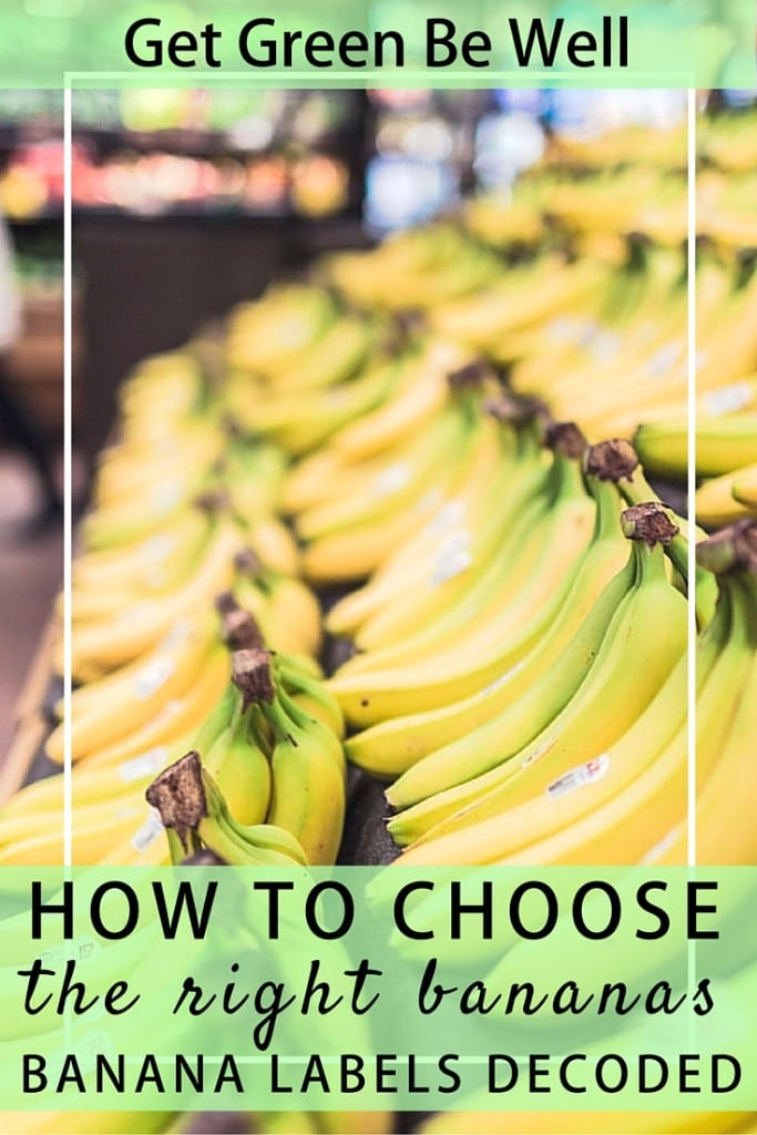What Labels on Bananas Really Mean