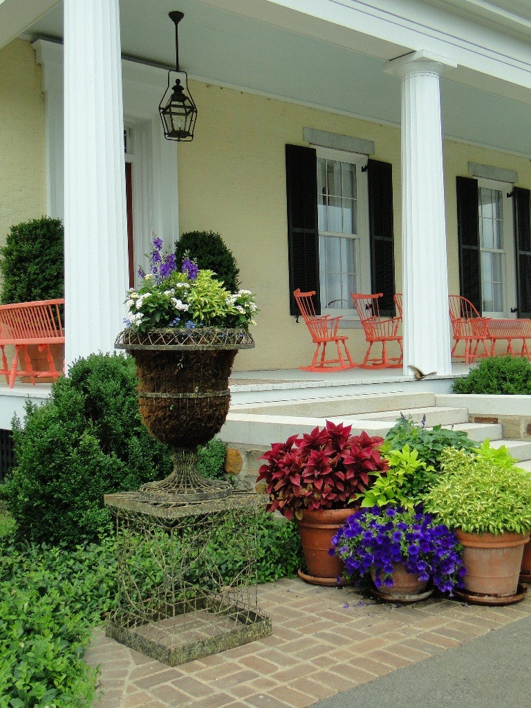 P. Allen Smith Front Porch Garden Home at Moss Mountain Farm Arkansas