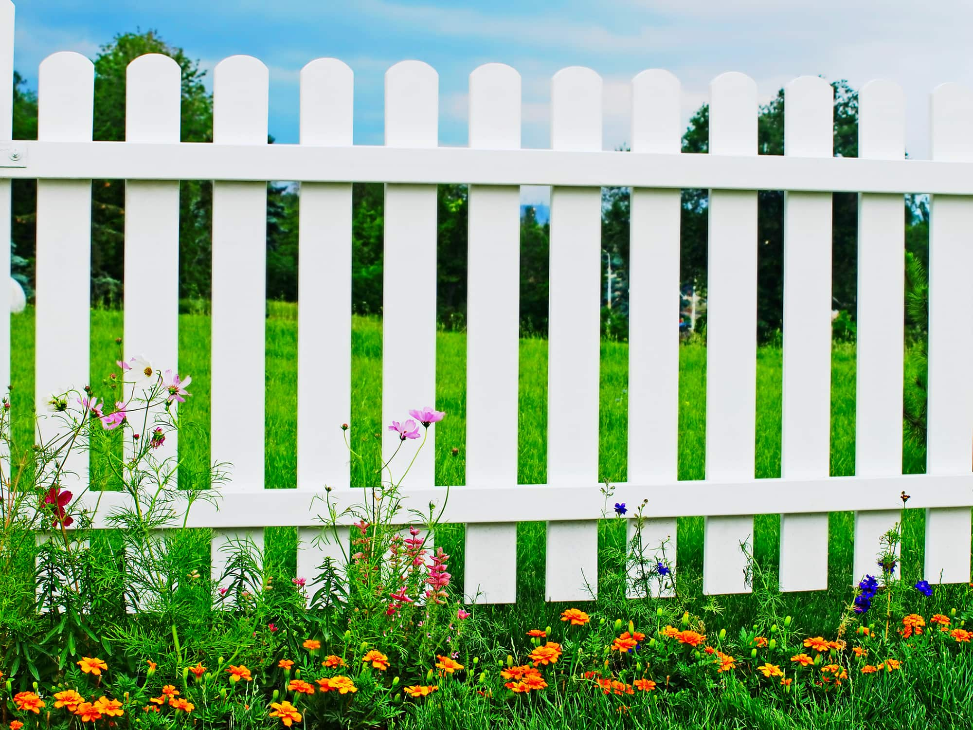 How To Clean A Vinyl Fence Get Green Be Well