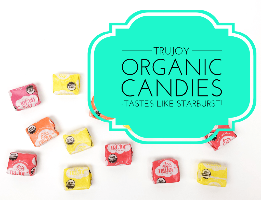 Healthy Swap for Starburst Candy: TruJoy Organic Fruit Chews