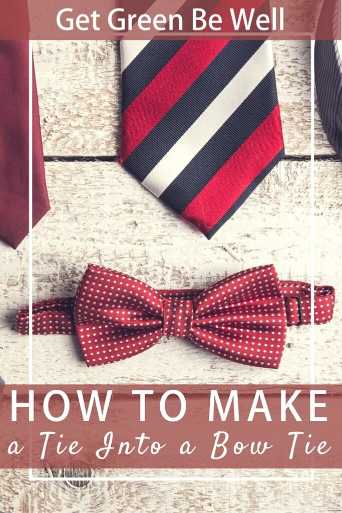 How to Make a Tie Into a Bow Tie
