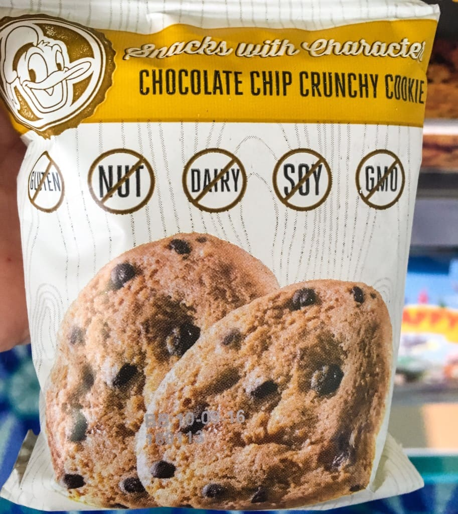 Allergy Friendly Chocolate Chip Cookies Enjoy Life Disney World Theme Park Character