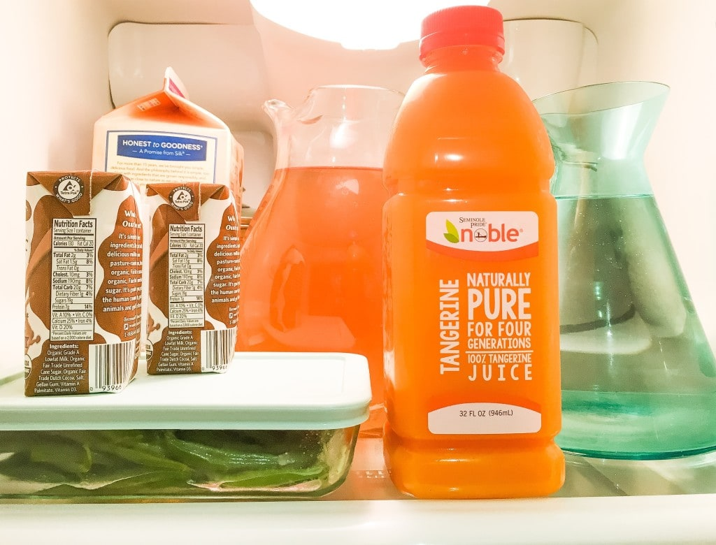 4 Must Have Drinks for the Refrigerator