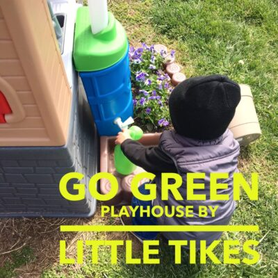 Little Tikes Go Green Playhouse Lets Children Do Their Part For The Earth