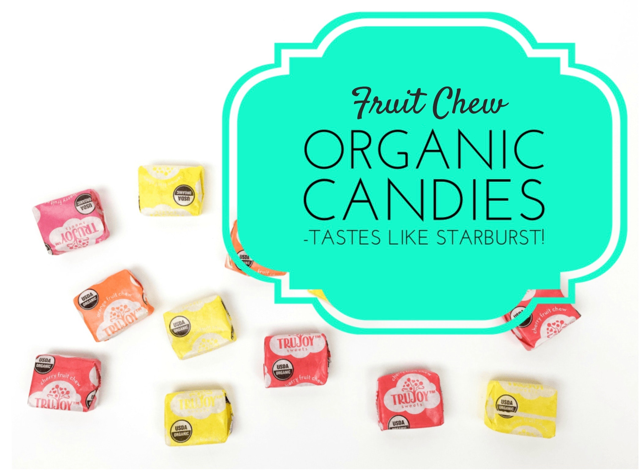 Organic Fruit Chews Just Like Starburst - Get Green Be Well