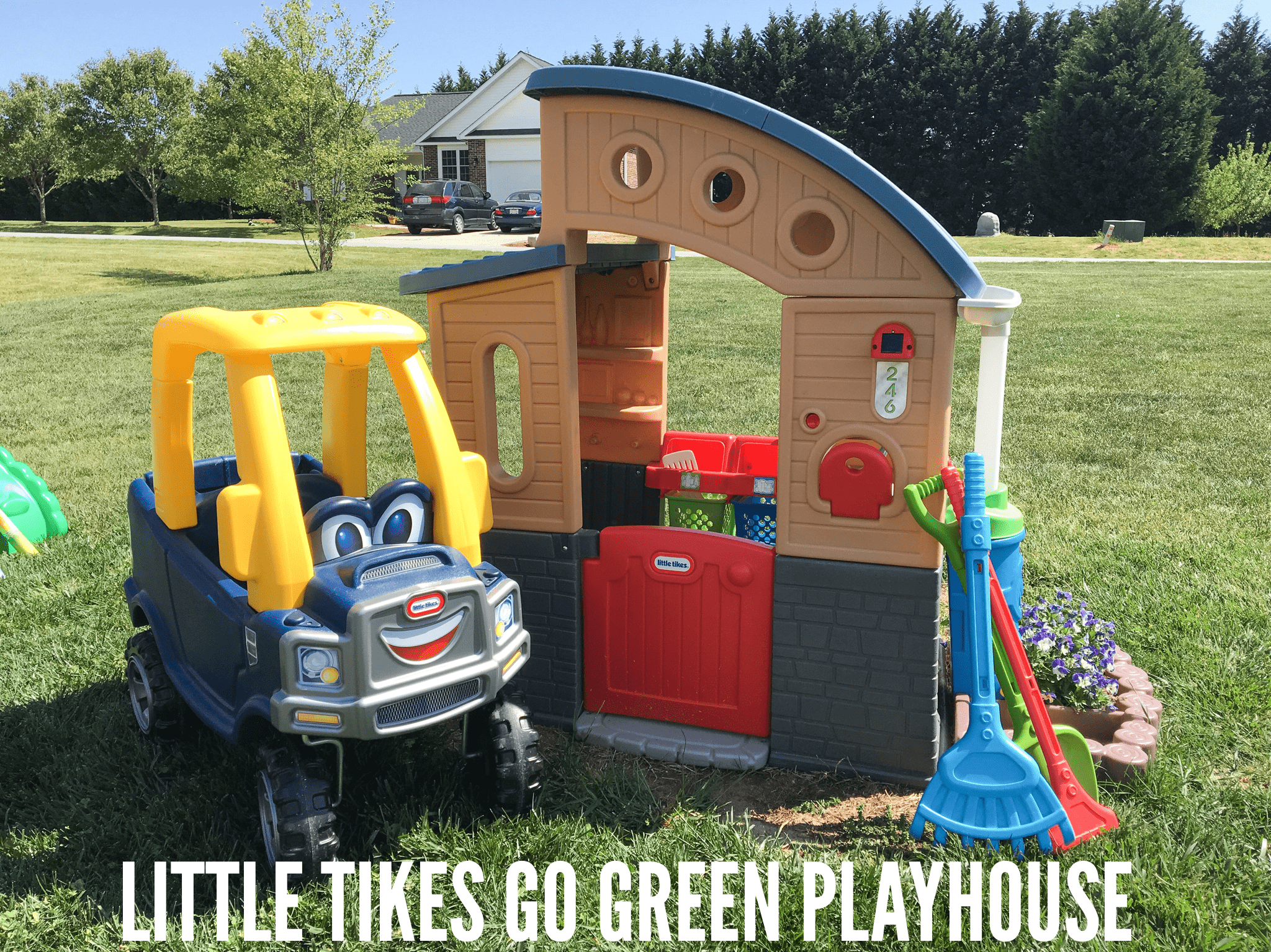 Little Tikes Go Green Playhouse Eco friendly Activities and