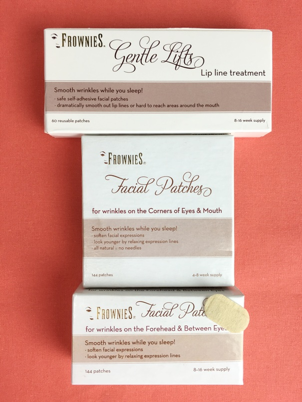 Frownies Facial Patches for Wrinkles Non Invasive