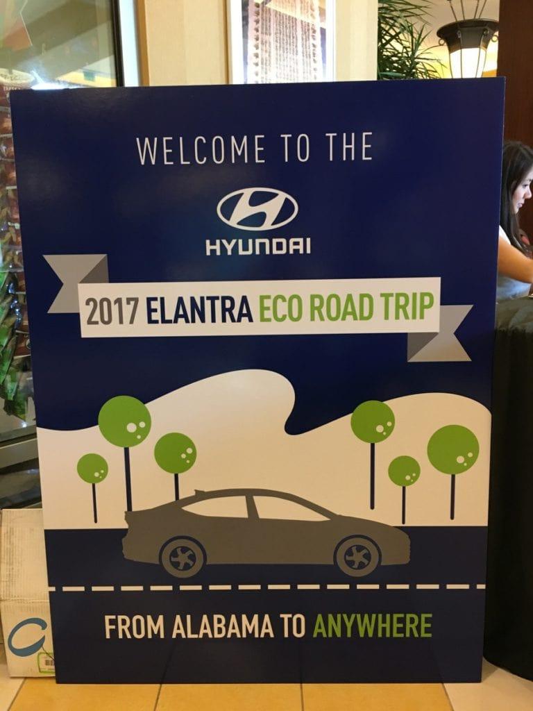 Hyundai Elantra Eco Road Trip USA