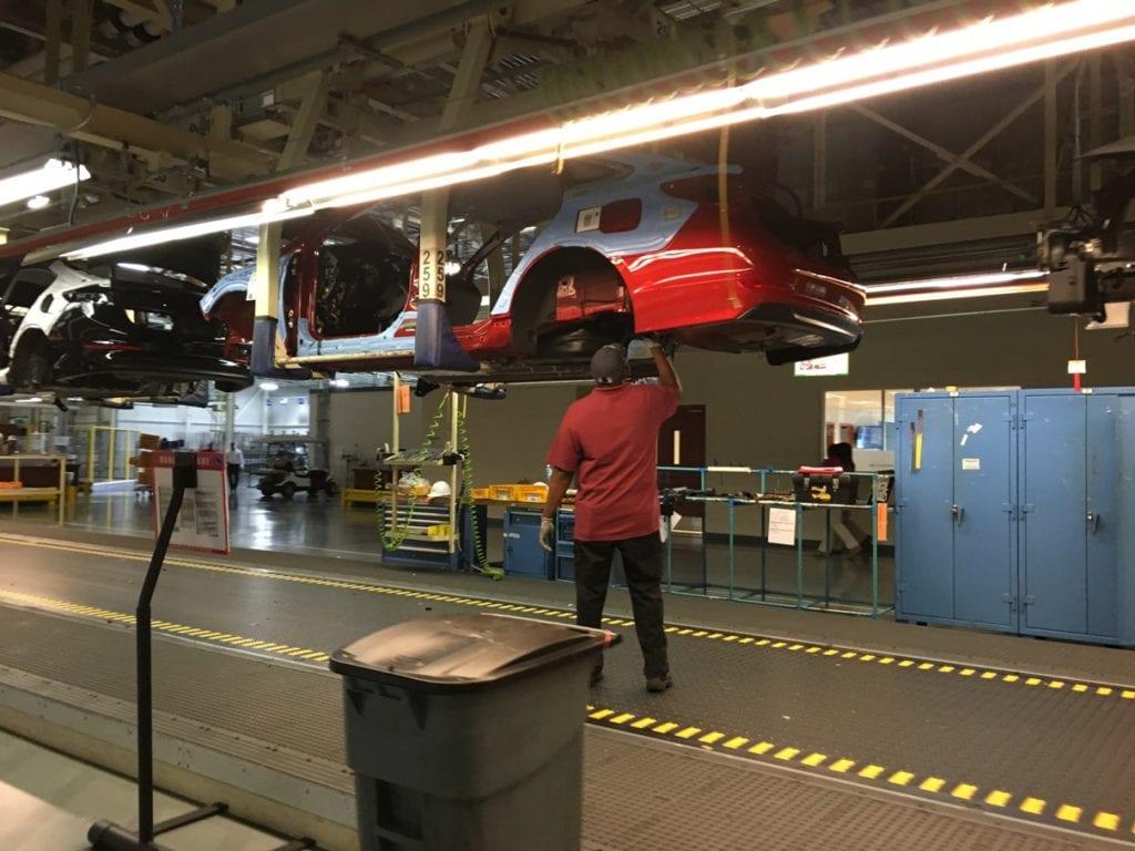 Hyundai Alabama Assembly Line Plant