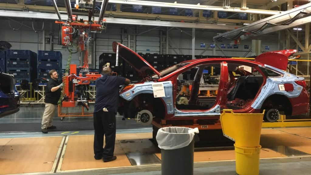 Hyundai Elantra Manufacturing Plant Montgomery Alabama