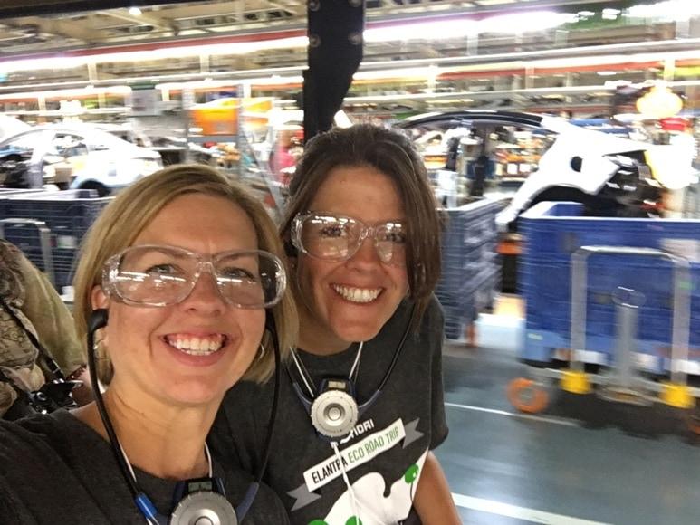 Hyundai Elantra Eco Tour Manufacturing Plant Montgomery Alabama