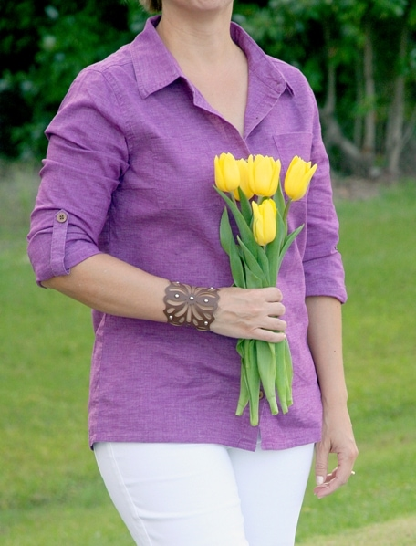 prana sustainable fashion Sutra Shirt Kara Jean EcoFriendly