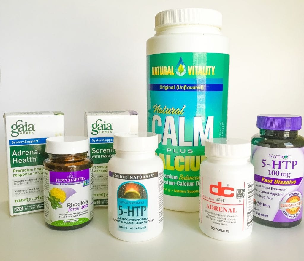 5 Pills to Stop Stress - All Natural Supplement That Can Help You Handle Stress and Anxiety