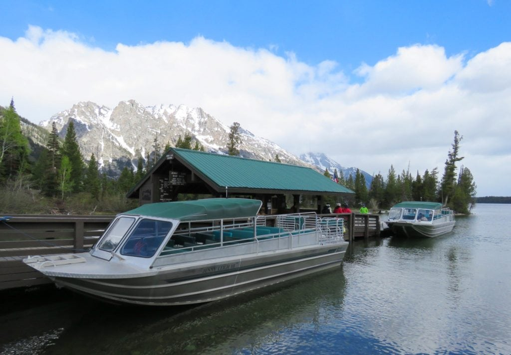 Jenny Lake Marina Grand Teton National Park Wyoming