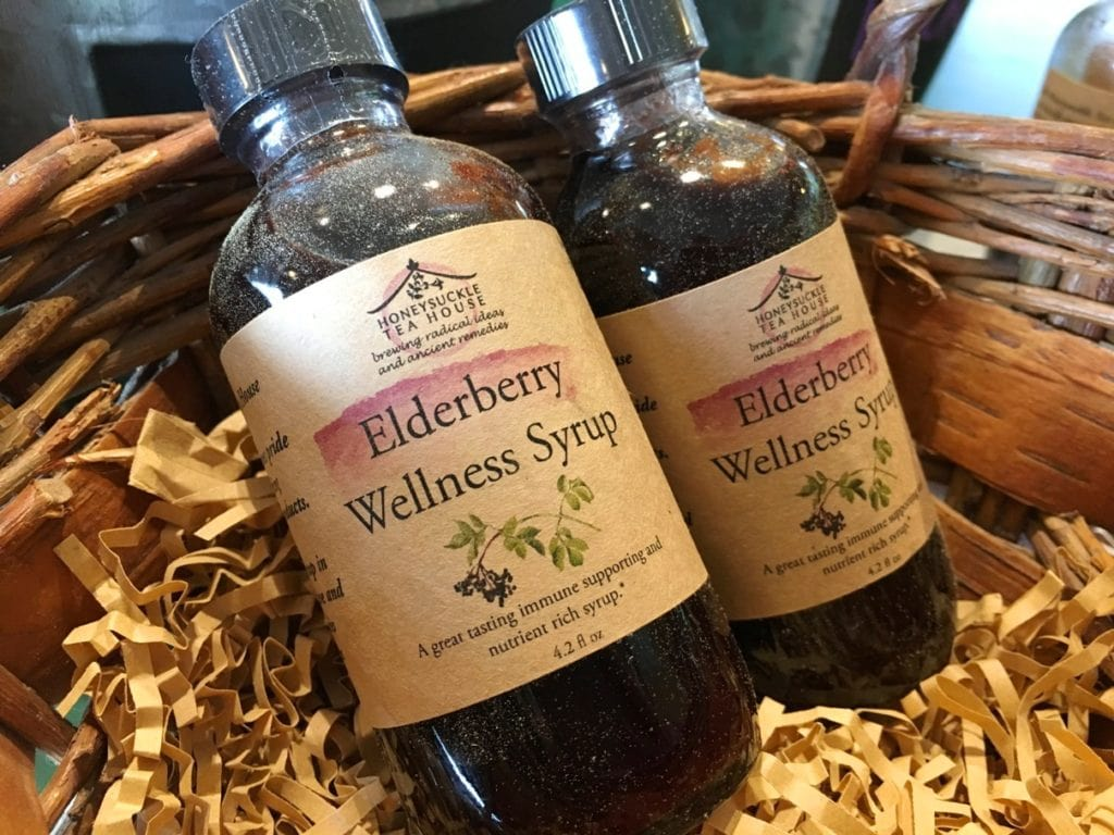 Honeysuckle Tea House Chapel Hill North Carolina NC Elderberry Local Eco Friendly