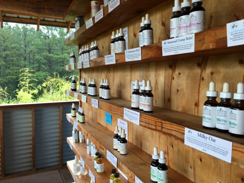 Honeysuckle Tea House Chapel Hill North Carolina NC Apothecary Local Eco Friendly